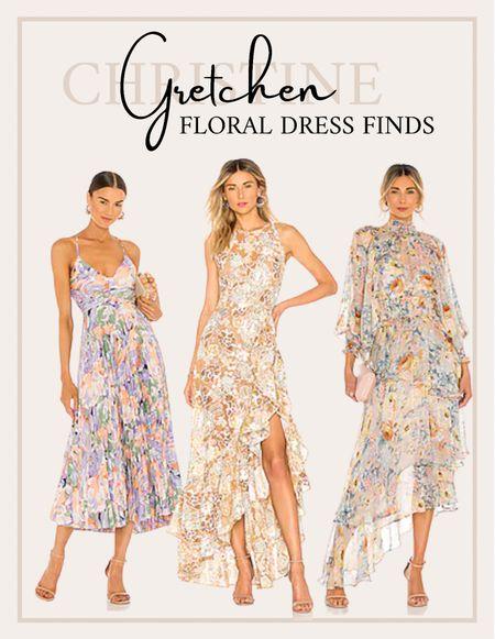 Shop floral dresses! Great for fall and wedding guest dresses!   #LTKwedding #LTKstyletip #LTKsalealert