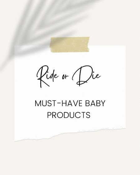 Baby products I can't live without http://liketk.it/3hKiF #liketkit @liketoknow.it #LTKbaby #LTKfamily a