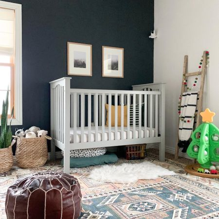 Boho neutral baby nursery inspo.   #LTKbaby #LTKfamily #LTKhome