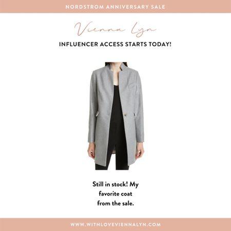 Still in stock! My favorite coat from the Nordstrom Anniversary Sale!  #LTKsalealert
