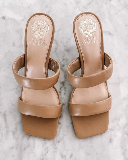 Such a chic and comfortable pair of sandals for summer. They heal is the effect height to wear for long amounts of time #sandals #summersandals http://liketk.it/3hjlC #liketkit @liketoknow.it #LTKstyletip #LTKunder100 #LTKshoecrush