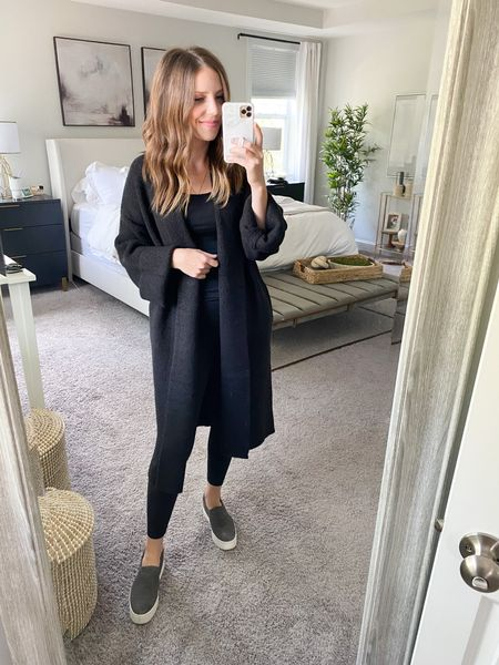 Target coatigan, wearing XS (runs big)