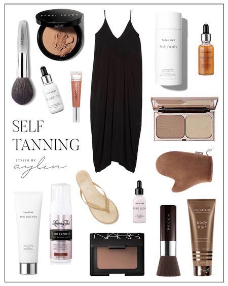 Self tanning, self tanning essentials, self tanning must haves, beach vacation ready, beauty favorites StylinByAylin   #LTKunder100 #LTKSeasonal #LTKbeauty