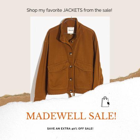 Amazing sale on Madewell jackets! @liketoknow.it #liketkit #LTKsalealert #LTKunder100 #fallfashion #jackets #madewell #affordablefashion http://liketk.it/2WhqM