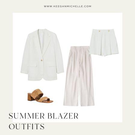 White summer blazer outfit http://liketk.it/3k5TW @liketoknow.it #liketkit #LTKworkwear #LTKstyletip #LTKunder100