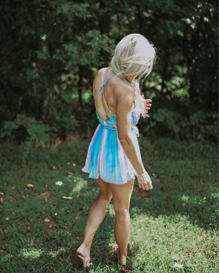 Love this casual colorful romper for summer!! #liketkit #LTKunder50 #LTKsalealert #StayHomeWithLTK @liketoknow.it http://liketk.it/2TCeB