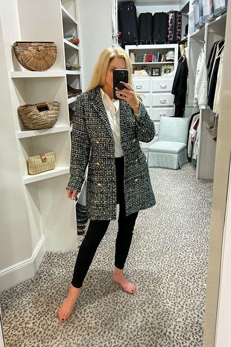 Either a jacket or a dress! Wearing size M.     #LTKstyletip #LTKunder100 #LTKSeasonal