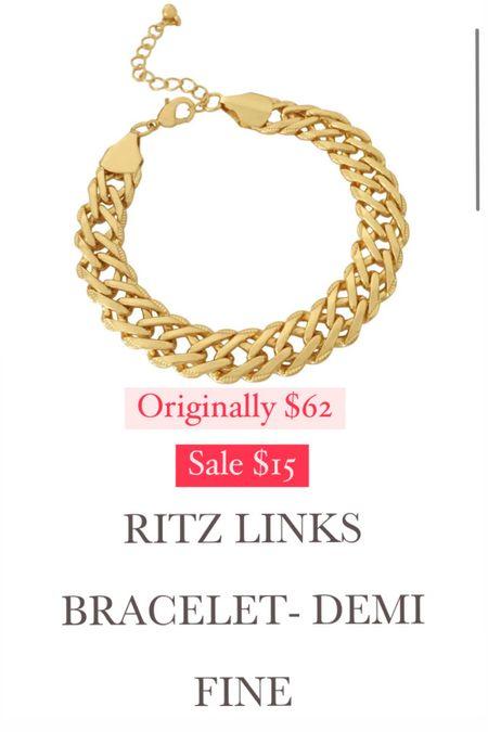 This bracelet is DEVINE!!!!! I have been waiting for a sale! Originally $62. On sale $15!!!!!   #LTKsalealert #LTKunder50 #LTKSeasonal
