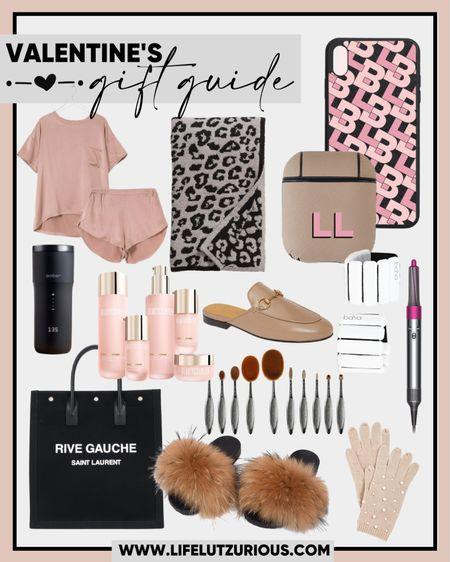 Valentine's Day gift idea for her, Valentine's Day, monogram, makeup brushes, beach tote, Dyson air wrap, Barefoot Dreams blanket, BEAUTYCOUNTER http://liketk.it/37nZt  #liketkit @liketoknow.it #LTKVDay #LTKunder100 #LTKSeasonal @liketoknow.it.home