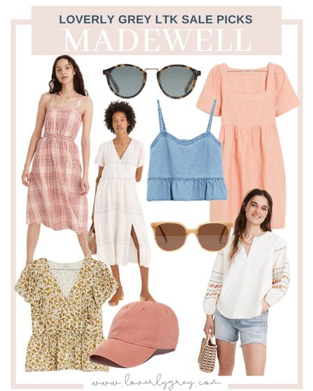 So many good summer pieces on sale at Madewell right now! Love all their summer dress options.   #LTKsalealert #LTKSeasonal