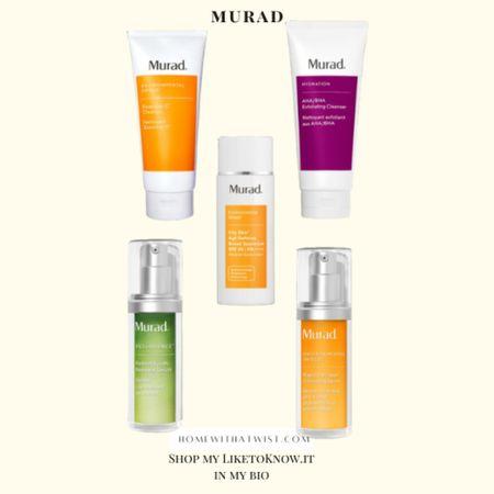 Murad is on sale this weekend for LTK Day! http://liketk.it/3hjB2 @liketoknow.it #liketkit #LTKDay #LTKbeauty #LTKfamily
