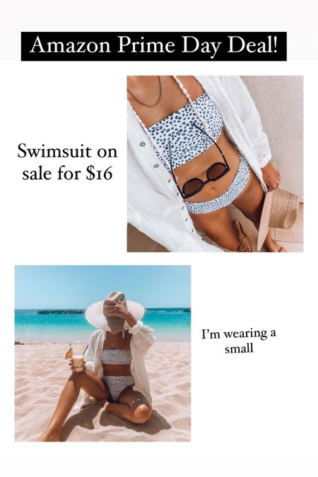 Amazon prime day deal✨ Two piece suit on sale for $16 http://liketk.it/3i3RI @liketoknow.it #liketkit #LTKswim