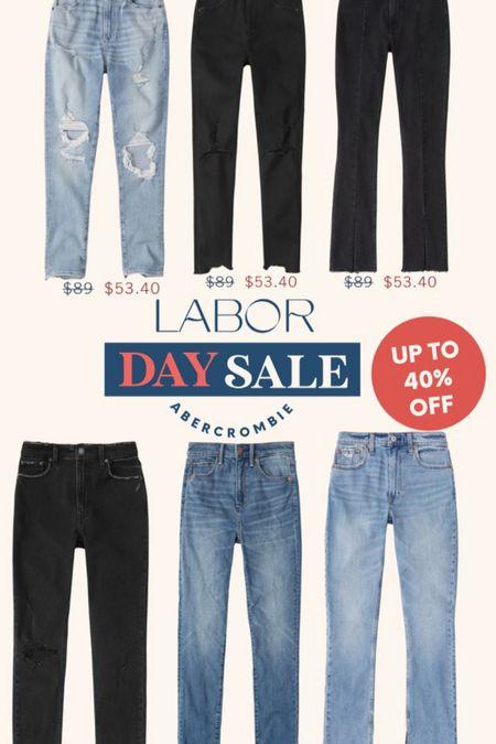 Abercrombie Jeans. Denim Sale. Labor Day Sale