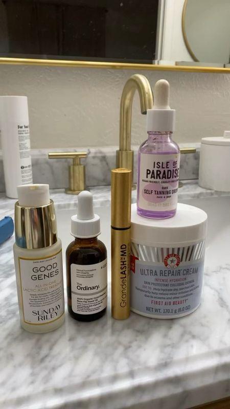 skincare lately!   #LTKbeauty