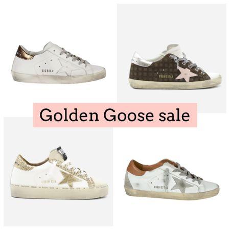 Golden goose sneakers on sale. White sneakers. Gift guide for her   #LTKGiftGuide #LTKshoecrush #LTKsalealert