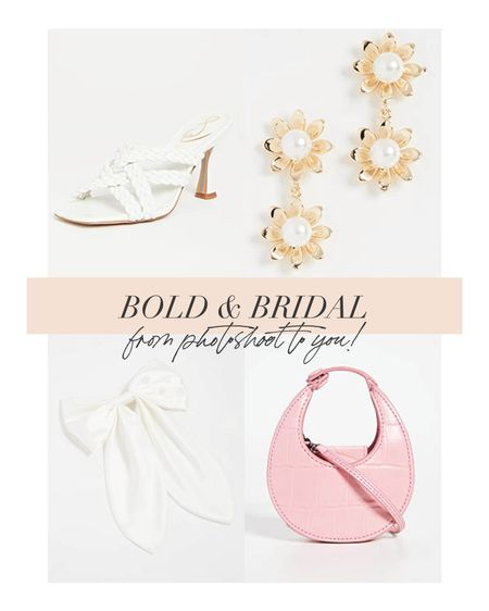Bringing bold bridal accessories from editorial to you!   #LTKshoecrush #LTKstyletip #LTKwedding