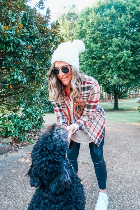 Happy October 1st! Who's ready to carve some pumpkins? 🎃   Still waiting on the leaves to change over here, but I can tell they're almost ready to turn. 🥰   Loving all the layering pieces that I recently snagged from @marleylilly I just can't resist their sales sometimes and who doesn't love all things monogrammed?! Linking a few faves to this post. 💕    #LTKsalealert #LTKGiftGuide #LTKSeasonal