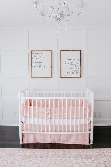 Blush pink nursery decor 💗  http://liketk.it/37SCq #liketkit #LTKbaby #LTKhome @liketoknow.it @liketoknow.it.home
