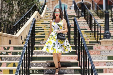 Feeling high and low with this lemon number   #LTKitbag #LTKstyletip #LTKunder50