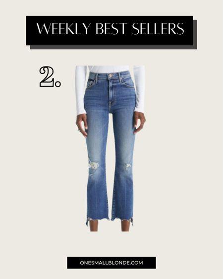 Cutest jeans for fall!   #LTKstyletip #LTKSeasonal
