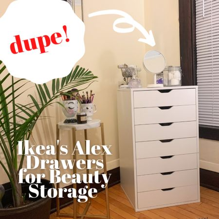 IKEA's Alex drawers dupe from right on Amazon. Literally changed my whole room & routine! http://liketk.it/3g2qV #liketkit @liketoknow.it