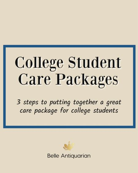 College Student Care Packages 1. Something fun! 2. Something to eat! 3. Something they need!  #LTKhome #LTKfamily #LTKbacktoschool