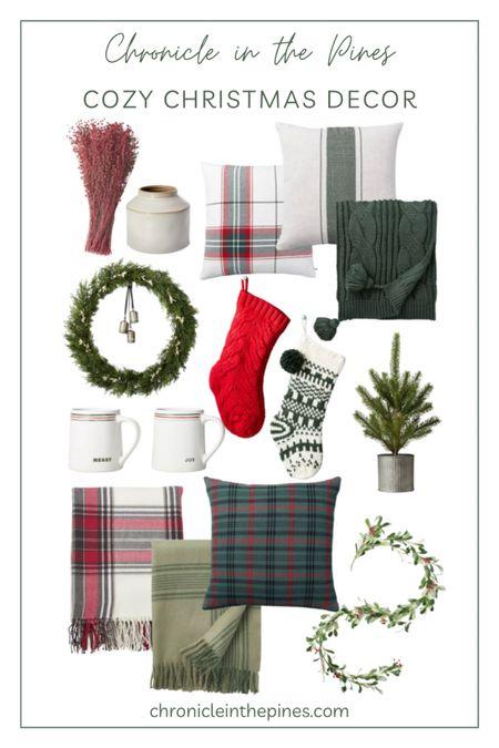 Cozy Christmas decor   #LTKHoliday #LTKhome #LTKSeasonal