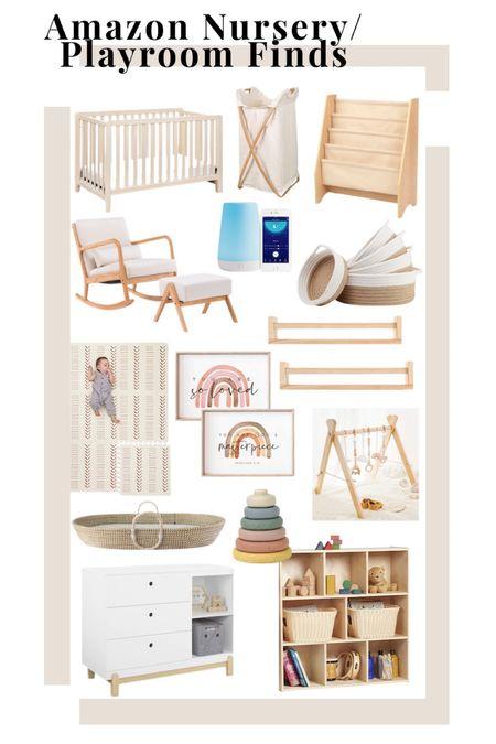 Amazon Nursery Playroom Finds Baby nursery  Kids playroom   #LTKhome #LTKkids #LTKbaby