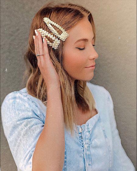 The hair clip obsession continues ✨ http://liketk.it/2Doja #liketkit @liketoknow.it