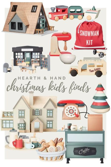 My first gift guide of the season is all of these fun toys from the Hearth & Hand collection at Target!  #LTKHoliday #LTKGiftGuide