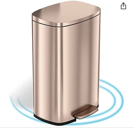 I found the perfect, most beautiful gold garbage can to go with our pantry makeover!! There are not that many in stock so if you're looking for a way to update your pantry or garbage area I would highly recommend this, it's so beautiful, I mean for a garbage can in anyway 🗑🗑  #LTKfamily #LTKhome #LTKsalealert