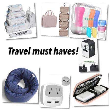 Travel essentials that everyone needs!   #LTKunder50 #LTKtravel #LTKSeasonal