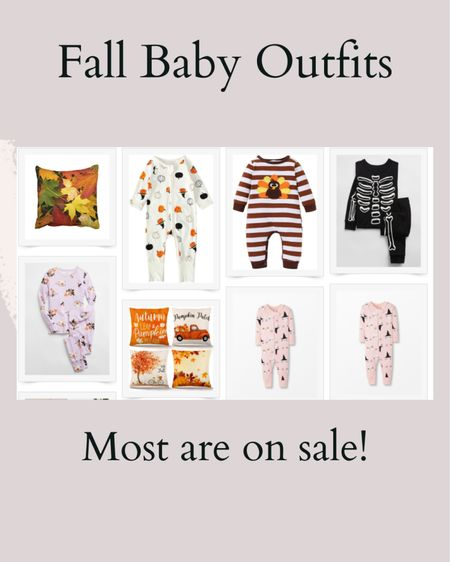 all of these cute fall baby outfits are to die for and most are on sale!   #LTKbaby #LTKfamily #LTKsalealert