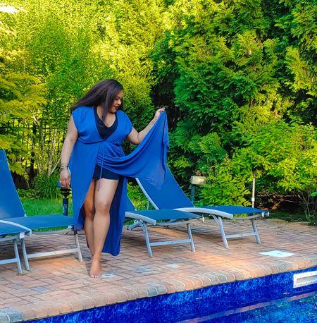 Swim cover-ups. Plus-size. Swim dresses http://liketk.it/3iqQ8 @liketoknow.it #liketkit #LTKsalealert #LTKcurves #LTKunder50 #LTKunder100 Download the LIKEtoKNOW.it app to shop this pic via screenshot