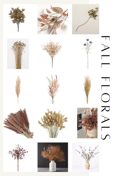 Fall florals, naturals and stems for fall decorating!   #LTKhome