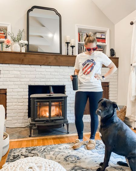 This is Memorial Day 2021. Rainy, cold weekend , a little stay-cation at home with the pup. So many good sales going on (although we know that's not what this day is about). These Prana Leggings are on sale& the sale is site -wide! This top is from @shopmaryevans & heart glasses are linked as well! Leggings are tts.  . . . . . .  #LTKsalealert #LTKstyletip #LTKunder100 #liketkit @liketoknow.it @liketoknow.it.family @liketoknow.it.home http://liketk.it/3gwyQ your screenshot of this pic with the LIKEtoKNOW.it shopping app
