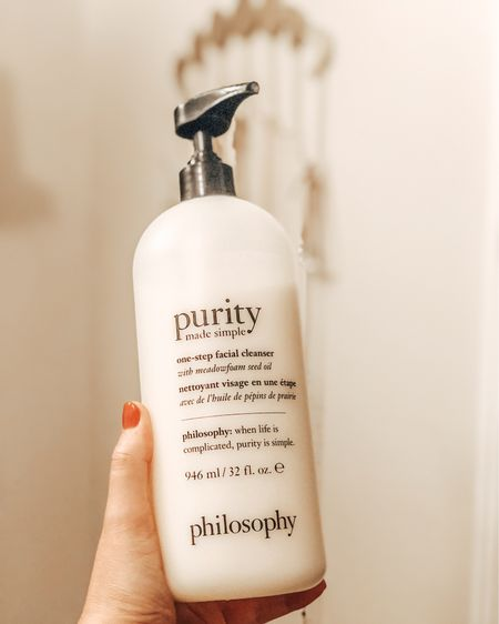 My current favorite facial cleanser! The holy grail of gentle cleansing and makeup remover - this removes my waterproof mascara better than remover wipes! TRUST. #LTKDay #LTKbeauty #LTKsalealert #liketkit @liketoknow.it http://liketk.it/3h983 Shop your screenshot of this pic with the LIKEtoKNOW.it shopping app