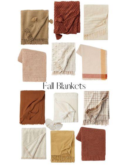 Cozy fall blankets! 🍂   http://liketk.it/3mSGk @liketoknow.it #liketkit