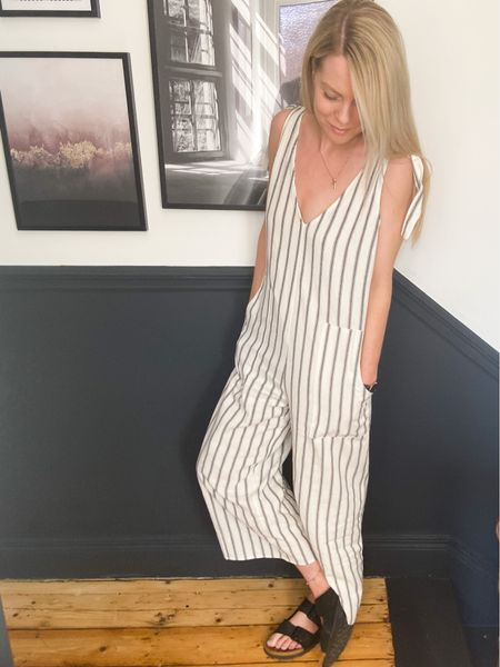 http://liketk.it/2PdFU #liketkit #LTKworkwear #LTKhome #LTKeurope @liketoknow.it @liketoknow.it.home @liketoknow.it.europe @liketoknow.it.family jumpsuit outfit, jumpsuits for women, jumpsuit outfit casual, jumpsuit striped, jumpsuit striped outfit, casual summer outfits, casual fashion