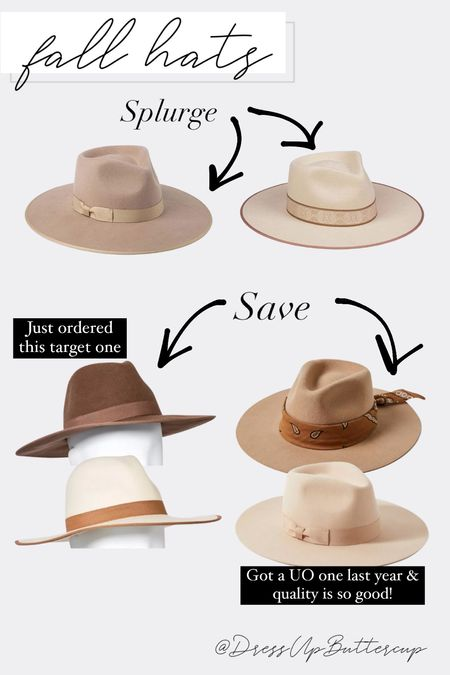 So excited for fall with all of these hats! Ordered the amazon & UO ones last year & they're both good quality! Got the lack of color one this year & it's sooo pretty an investment piece but one that lasts for years   #LTKsalealert #LTKSeasonal #LTKstyletip