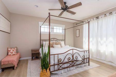 Master bedroom  Neutral master bedroom Bedroom area rug White bedding amazon Boutique rugs   #LTKhome #LTKunder100 #LTKfamily