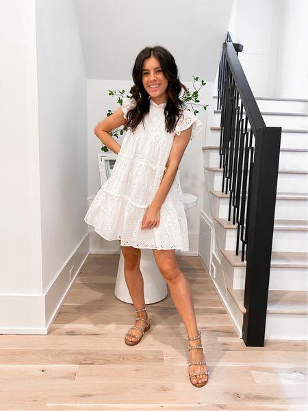 White dress. Summer dress. Bridal dress.   #LTKstyletip #LTKunder50 #LTKwedding