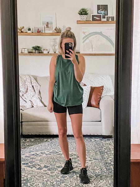Amazon fashion  Workout   #amazonfashion #amazonfinds #workout #shoes #bikershorts #tanks #workouttank #workoutshorts #workoutshoes #LTKunder100  #LTKstyletip #LTKunder50 #LTKshoecrush
