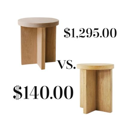 These wooden accent tables look so alike. The one for under $150. from Target Is the only choice.   #LTKstyletip #LTKhome