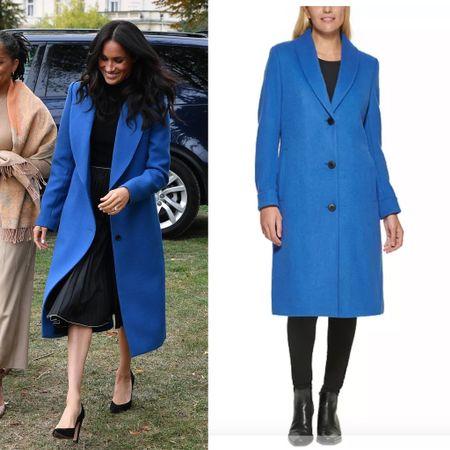 Meghan fall coat dupe #coat   #LTKstyletip