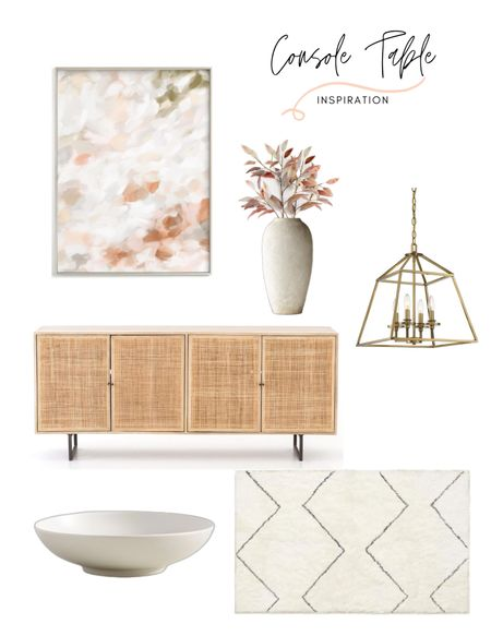 Console table styling! Loving this console table and home decor. Shop the post!   #LTKhome #LTKfamily #LTKstyletip