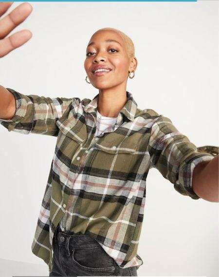 Flannel fall shirts #plaidshirt #flannel #fallstyle #falloutfit  #LTKbacktoschool #LTKSeasonal #LTKstyletip