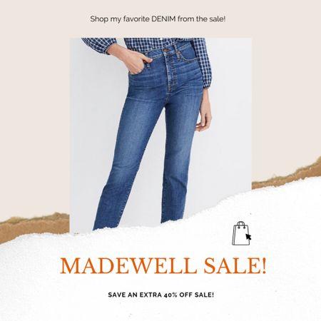 Favorite DENIM finds from the Madewell sale! @liketoknow.it #liketkit #LTKsalealert #LTKunder100 #denim #jeans #pants #madewell #fallfashion http://liketk.it/2Whj8