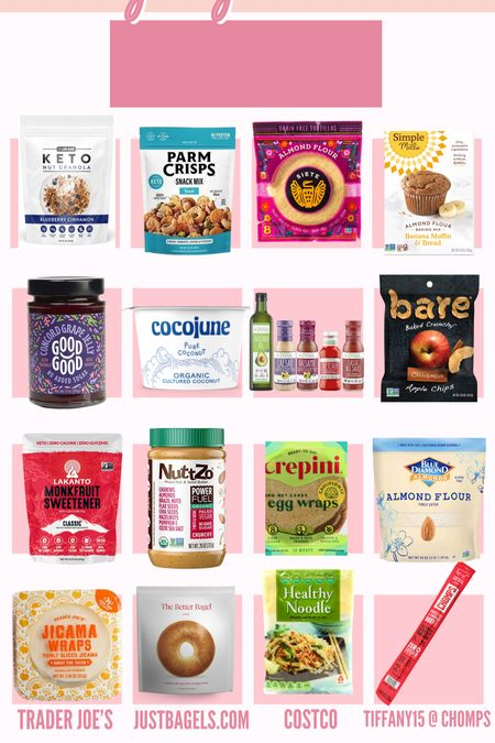 My No Refined Carbs Every day essential foods! These food products have been so great when trying to find better alternatives! #norefinedcarbs #amazon #walmart #costco #healthyfood #healthy #diet  #LTKfit #LTKunder50 #LTKcurves