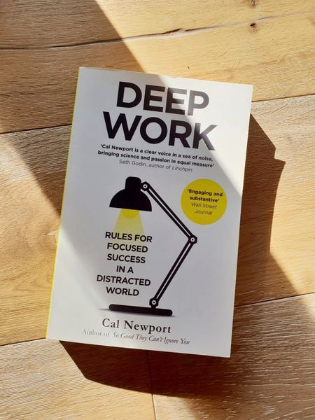 Fantastic self-improvement book about how to focus and develop self-discipline when it comes to working in a distracting, modern environment. Deep work is important no matter what you do and it is a skill you can learn to develop. This book will truly change your life!    #LTKfamily #LTKworkwear #LTKunder50